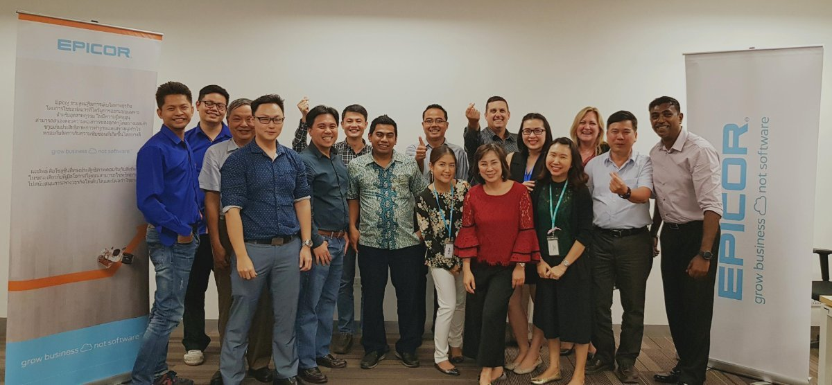 Epicor Mattec Training for Southeast Asia Partners on Enabling Industry 4.0 Initiatives (5-9 March 2018)