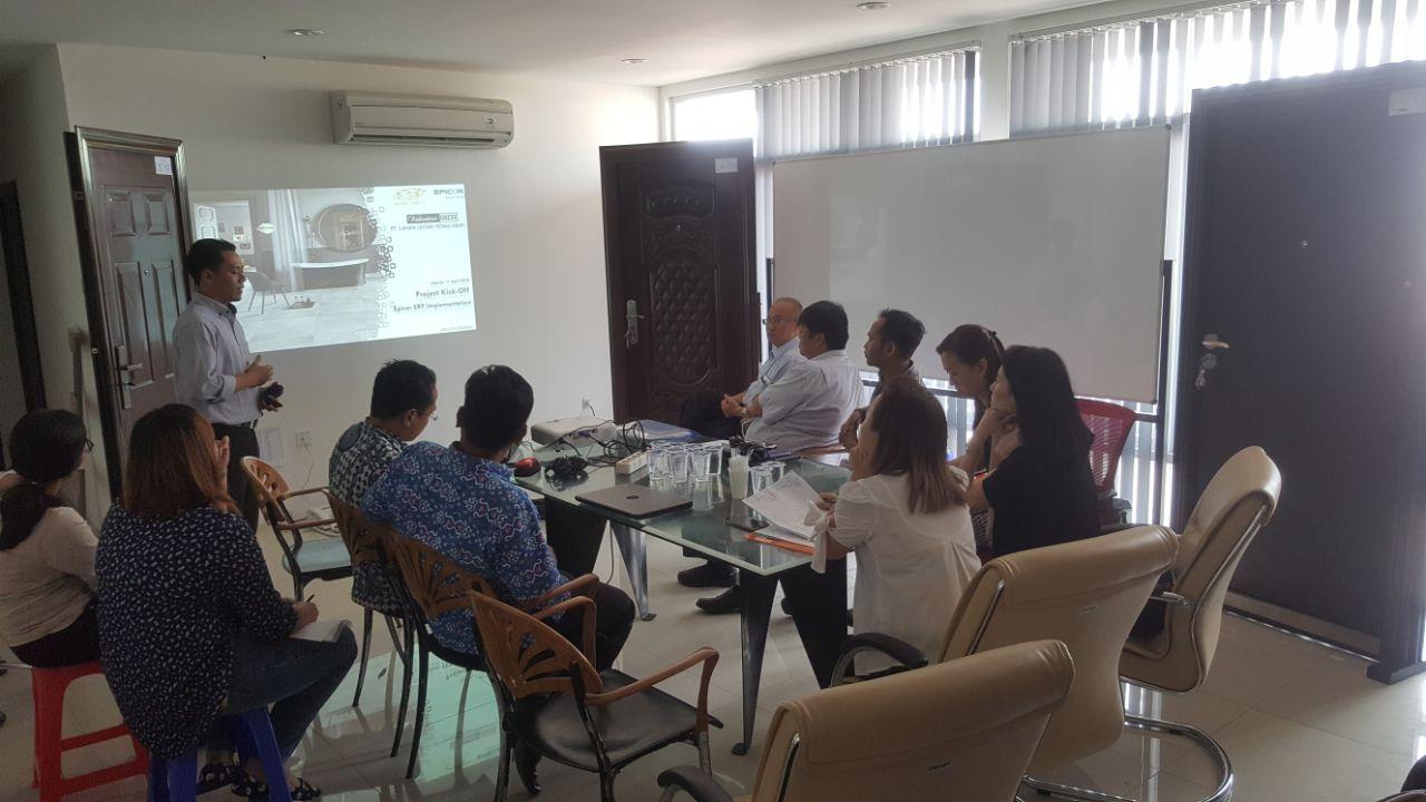 Kick-Off Project Implementasi Epicor 10.2 di PT Cahaya Lestari Permai Abadi & Group.