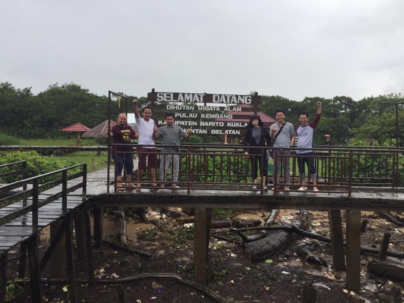 RAK Short Trip to Flower Island (Pulau Kembang) Banjarmasin